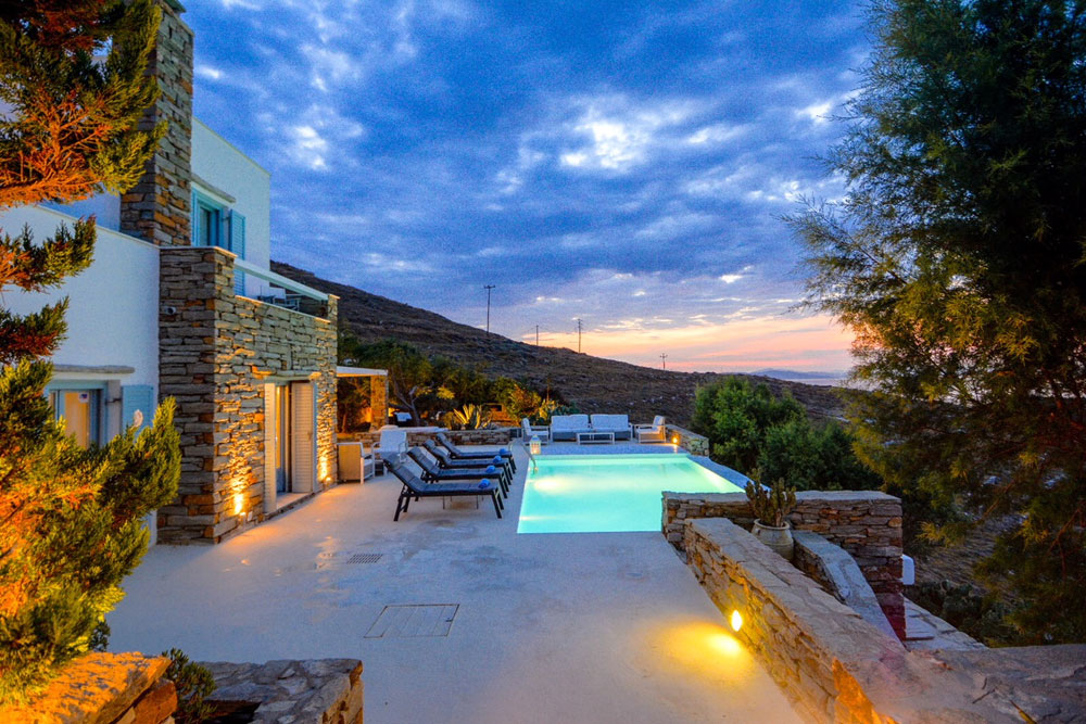 Villas in Kea Cyclades Greece